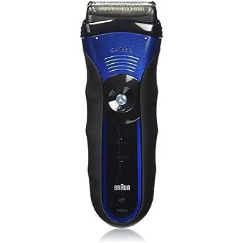 Braun 3 Series 340S Men's Electric Foil Shaver / Electric Razor, Wet & Dry