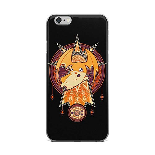 iPhone 6 Plus/6s Plus Pure Clear Case Cases Cover Crest of Hope Cute Digimon Anime Manga Art -
