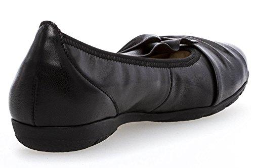 Gabor Ladies Ballerina 84.150.27 Negro Black (27)