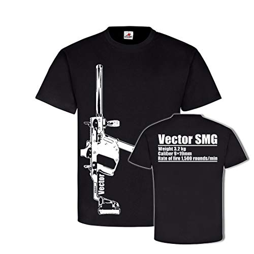 Vector SMG MP Submachine Gun US 9mm COD Airsoft EGO Shooter Gamer Airsoft Black