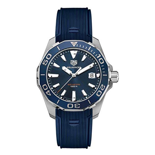 Tag Heuer Aquaracer Blue Sunray Dial Mens Watch WAY111C.FT6155