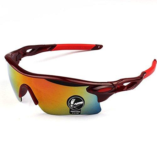 de para de libre Wicemoon al ciclismo sol para deportes sol aire hombre 5 Gafas gafas qFHH7WS