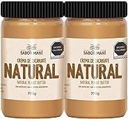 2-pack SABOR MANÍ Crema de cacahuate Natural 1.54kg
