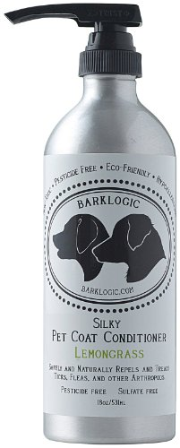 BarkLogic - Tick & Flea Prevention Silky Pet Coat Conditioner - 18 oz. - Lemongrass