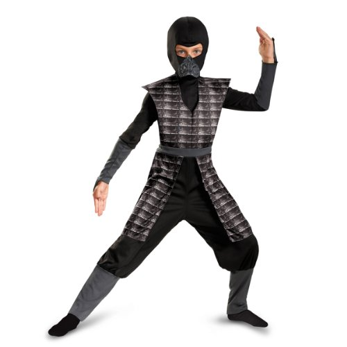 Disguise Shadow Ninjas Night Fury Boys Costume, Black, 10-12
