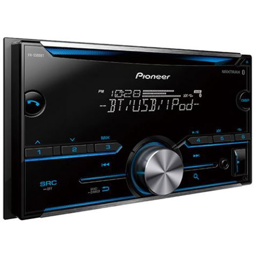 Pioneer FH-S500BT Double DIN headunit review
