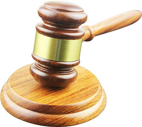 Apexstone Wooden Gavel Lawyer Auction