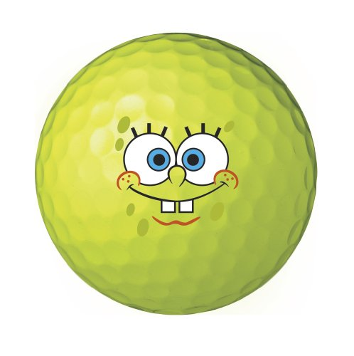 Wilson-SpongeBob-Squarepants-Golf-Balls