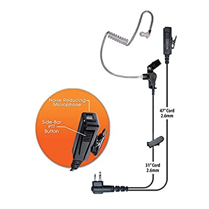 Amazon.com: Klein Director 2-Wire Earpiece and Mic Headset for ... on