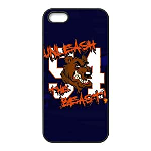 Chicago Bears iPhone 4 4s Cell Phone Case Black persent zhm004_8474193