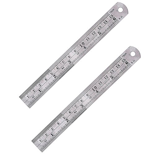 eBoot Stainless Steel Ruler Conversion