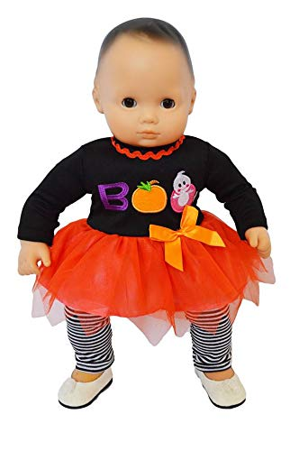 Brittany's Spooky Boo Outfit Compatible with Bitty Baby Dolls- 15 Inch Doll Clothes -