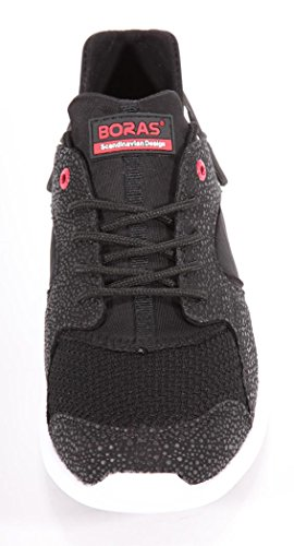 Boras Fashion Sports Sneaker black/white