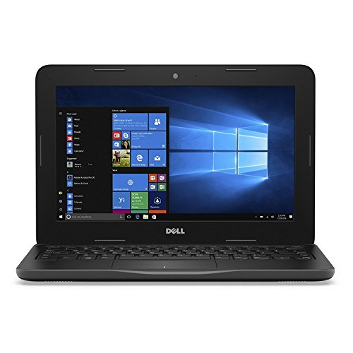 Dell Latitude Celeron Dual core (4GB/128GB SSD/Windows 10), 3180 Laptop (11.6 inch, Balck) (YGJNV)