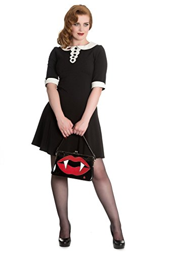 50s Me Punk Bunny Fangs Bag Sulpicia Vampire Kiss Deadly Vintage Handbag Hell zaxqEq