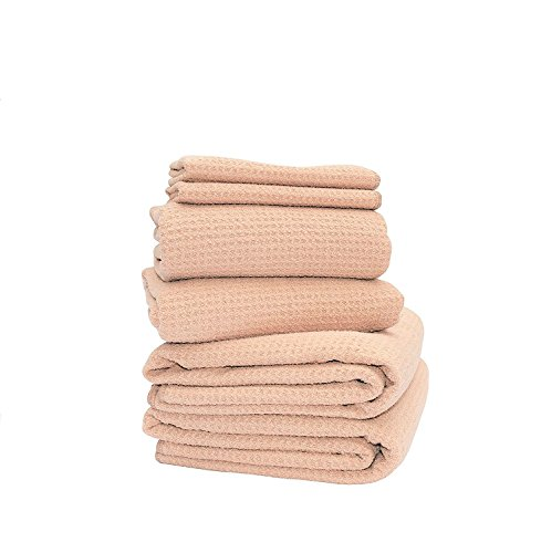 Fina Ultra Absorbent Microfiber Waffle 6-towels SET - 2 Body