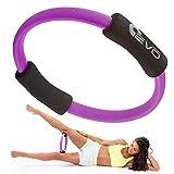 Yoga EVO Pilates Ring Magic Circle Inner Thigh 12' - Thigh Master for Inner Thighs Pilates Circle - Resistance Ring