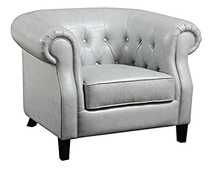 Amazon Emerald Home U3724 05 03 Vintage Accent Chair Stone