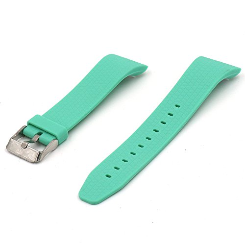 Woodln Gear Fit2 Smart Watch Zubehör Uhrenarmbänder Replacement Strap Band Uhrenarmband Erstatzband Armband für Samsung Gear Fit 2 R360 Fitness Smartwatch (Green)