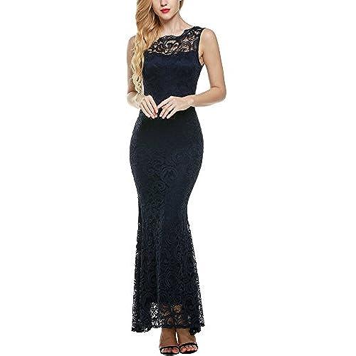 Navy Blue Formal Dresses Amazon