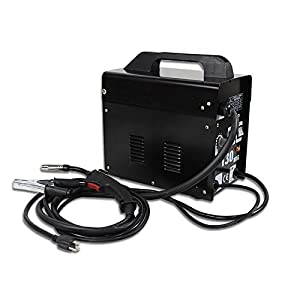 Smartxchoices MIG130 Gas-Less Automatic Feed Flux Core Wire Welding Machine w/Free Mask (Black,110V) by Smartxchoices