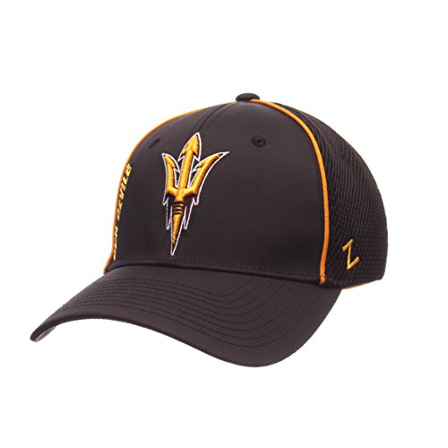 Devils Arizona Cap State Sun (Zephyr NCAA Arizona State Sun Devils Men's Punisher Hat, Black, Medium/Large)