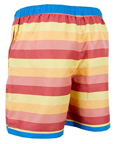 voor zwemshorts dames Boardshorts Stripstripstrepen heren Multicolor heren Luvanni voor Strandshorts Badpak voor zxU11Fq
