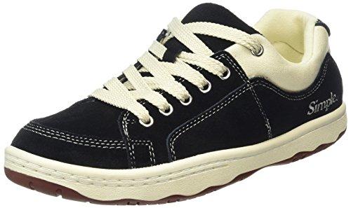 OS 001 Sneakers Herren Simple Black Schwarz 4RT8yqw