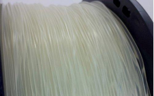 3D Printer Filament PLA 0.5kg 1.1lb Supply for 1.75mm Clear Transparent