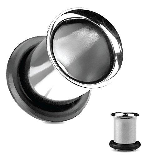 00 stainless steel plugs - 4