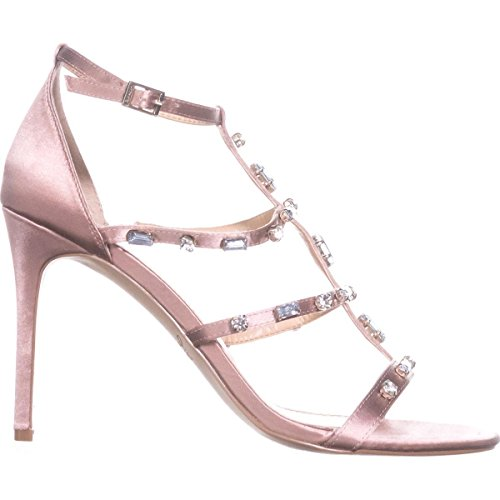Badgley Mischka Jewel Womens Adela Heeled Sandal Blush JFGjph