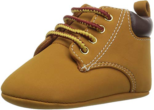 Image of Baby Deer Boys' 02-4850 Ankle Boot, Wheat, 3 Medium US Infant