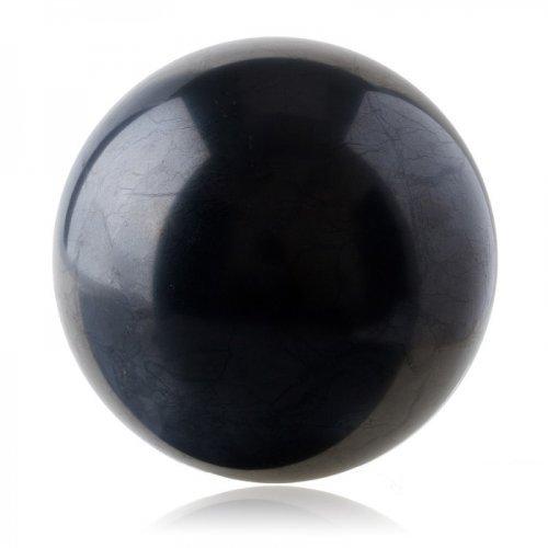Shungite Ball Shungit Sphere Schungit Polished 50mm ()