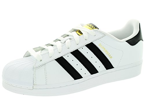 adidas Originals Men's Superstar Casual Sneaker, White/Core.
