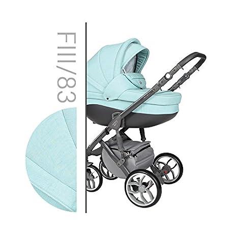 Baby Merc Faster III Carrito Cochecito 3en1+silla de coche (83)