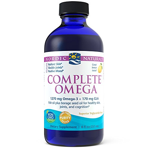 Nordic Naturals - Complete Omega, Supports Healthy Skin, Joints, and Cognition, 8 Ounces