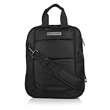 8af098ac78 Suntop Dexter 3 Way Laptop Hand Messenger Bag Backpack Shoulder Bag   Amazon.in  Bags