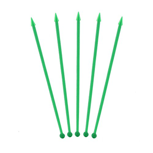 Royal Green Plastic Arrow Picks, Package of 1,000