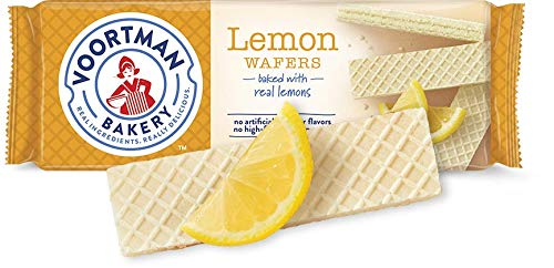 Voortman Bakery Wafers - Baked with Fresh Ingredients, No Artificial Colors, Flavors or High-Fructose Corn Syrup (Pack of 4) - Wafer Cookies Sugar