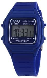Q&Q L116J008Y - Reloj digital de cuarzo unisex con correa de plástico, color azul
