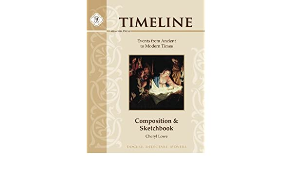 Timeline Composition & Sketchbook: Events from Ancient to