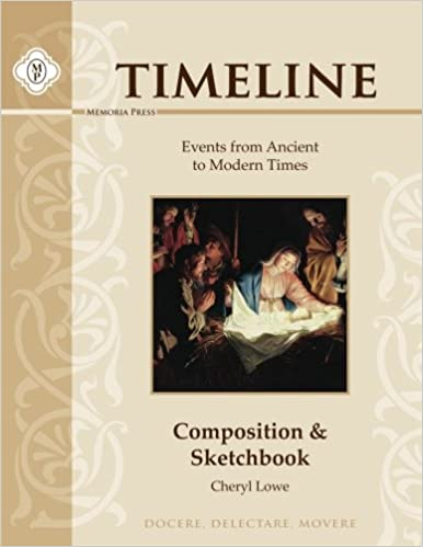 Timeline Composition & Sketchbook: Events from Ancient to Modern