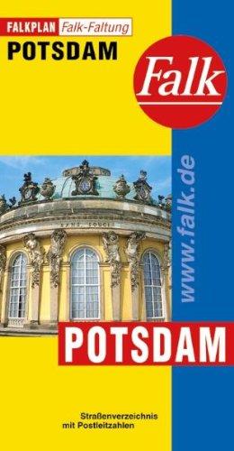 Falkplan Falk-Faltung Potsdam Landkarte – 2001 Falk Verlag Ostfildern 3884453092 M3884453092