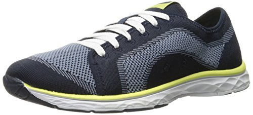 Dr. Scarpe Da Donna Anna Knit Fashion Sneaker Navy Luna Knit