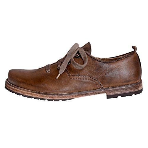 de fonseca Zapatos de Cordones Para Hombre Beige Camel 41 BrYN2ys