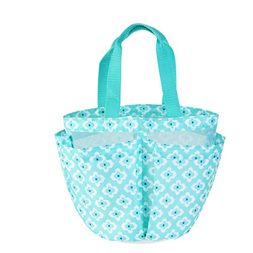 TINKSKY Shower Tote Caddy Quick Dry Organizer for Bathroom College Dorms Gym Swimming and More, Blue