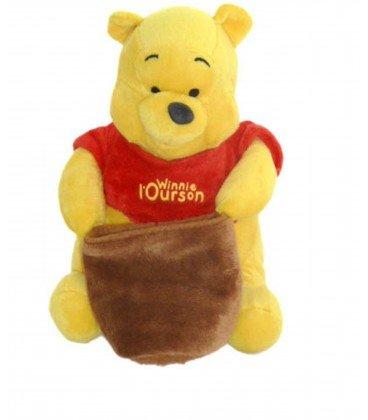 Doudou-peluche de WINNIE the Pooh con bote de Miel Disney-Cémoi 22 ...