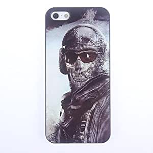 LIMME Warrior with Mask Design Aluminium Hard Case for iPhone 5/5S