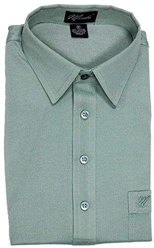 Merola Short Sleeve Pocket Polo Shirt (XLARGE, (Embroidered Banded Bottom Shirt)