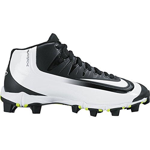 Nike Boy's Huarache 2KFilth Keystone (GS) Baseball Cleat Black/Volt/White  Size 3.5 M US